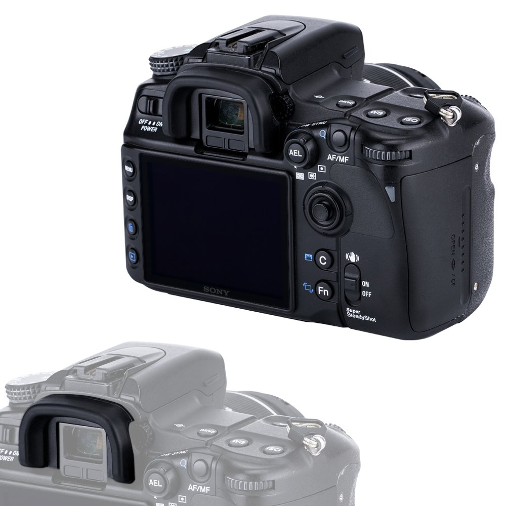 D70S D60 D90 D300s D600 D100 D610 D5100 D7100 D70 D200 D5000 C/ámaras Reemplazo de Nikon DK-21//DK-23 Eyepiece D300 Lote de 2 D7000 D80 JJC Visor Ocular Eyecup para Nikon D750