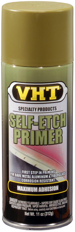 VHT SP307-6 PK (ESP307007-6 PK) Green Self-Etch Primer - 11 oz. Aerosol, (Case of 6)