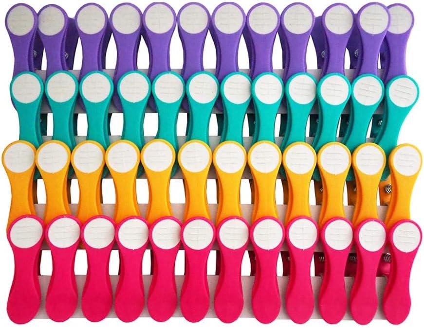 pince en mati/ère douce et adh/érente 48 pinces Pinces /à linge rose//blanc