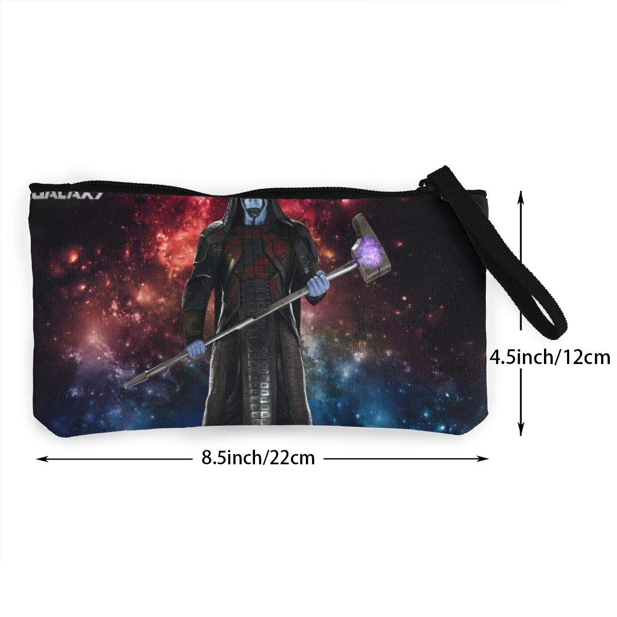 Guar-dians Of The Galaxy Canvas Cash Coin Purse Zipper Pouch Phone Pouch And Woman Make Up Bag