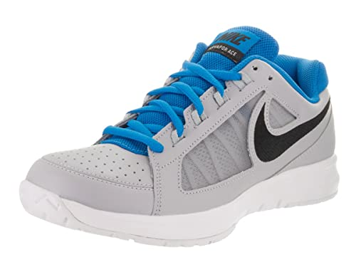 781177d51bb2 Nike Men s Air Vapor Ace Wolf Grey Black Lt Photo Blue Tennis Shoe 9. 5 Men  US  Buy Online at Low Prices in India - Amazon.in