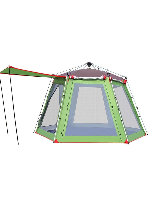 キャンプテント5 8人伸縮アルミ合金キャンプ用品   B07QHTYK9D