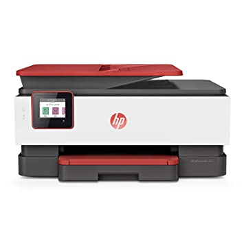 HP OfficeJet Pro 8026 All in One Wireless Smart Colour Printer with Auto Duplex, ADF with Voice Activated Printing  Works with Alexa  amp; Google Assi
