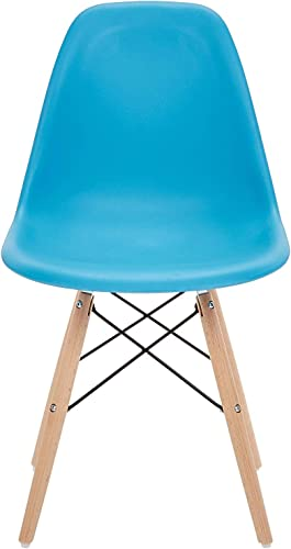 Phoenix Home Dining Chair, Single, Sky Blue