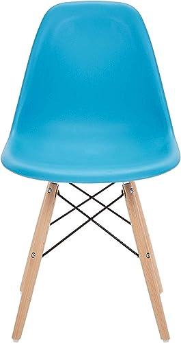 Phoenix Home Dining Chair, Single, Sky Blue