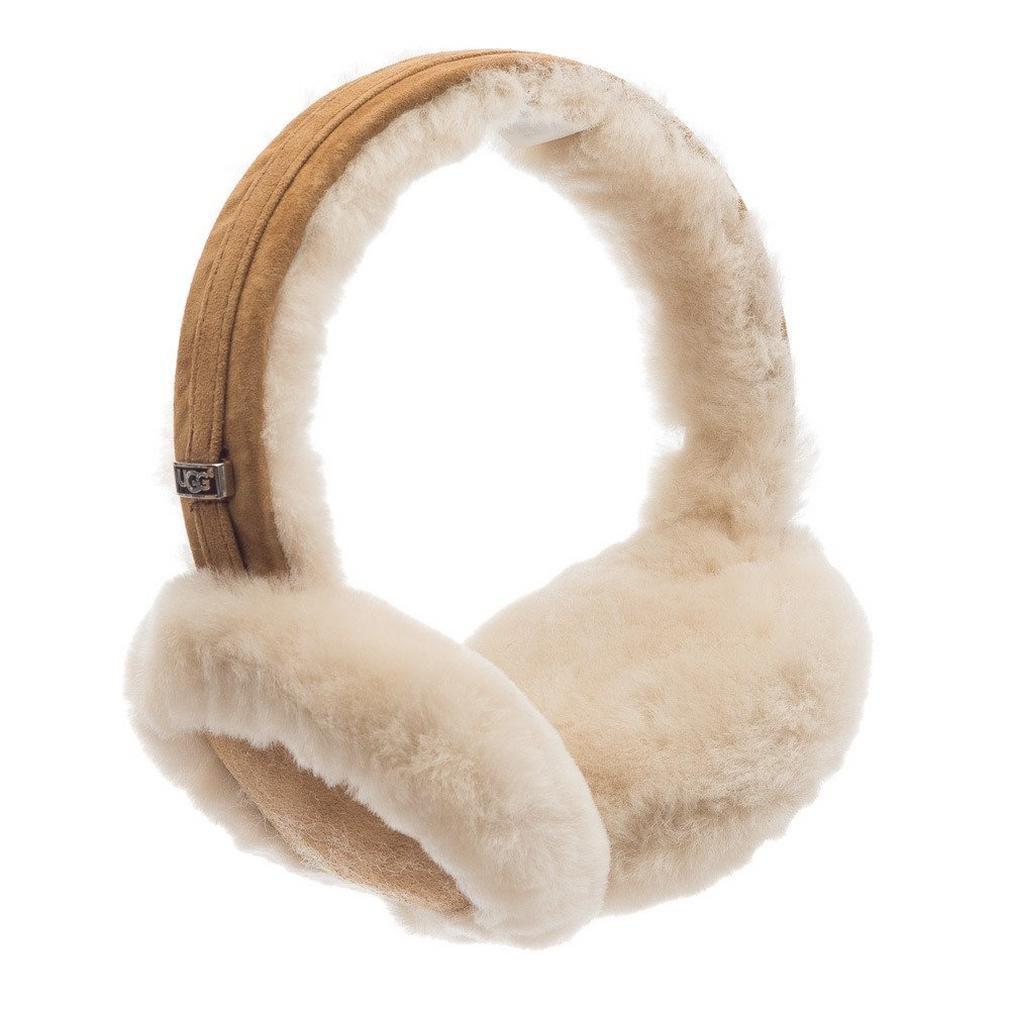 Ugg® Shearling Wired Damen Ohrenschützer Schwarz UGG AUSTRALIA U1650