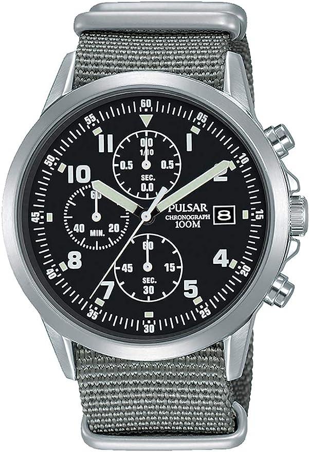 Orologio pulsar cronografo da uomo in stile militare pm3129x1