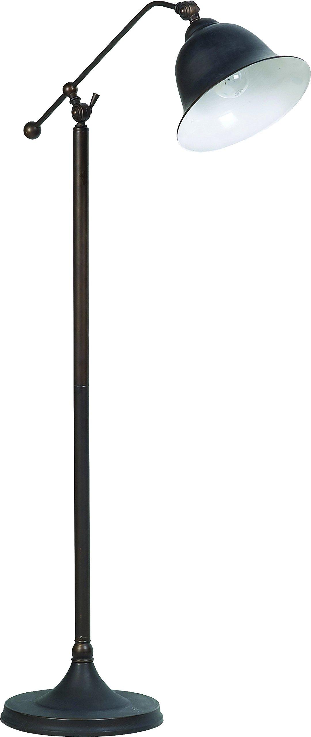 Coaster Home Furnishings 901231 Floor Lamp, Dark Bronze Metal Finish