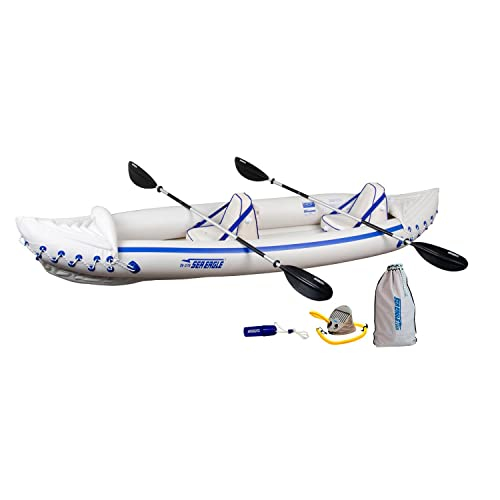Sea Eagle SE370K_P Inflatable Kayak Pro Package