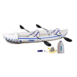 Sea Eagle SE370 with pro package Inflatable kayak