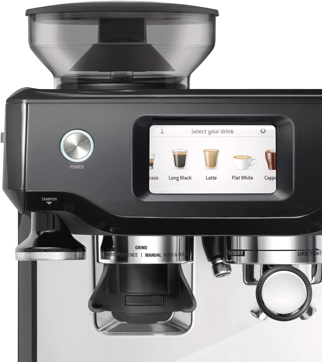 SAGE SES880BTR the Barista Touch, Cafetera espresso ...