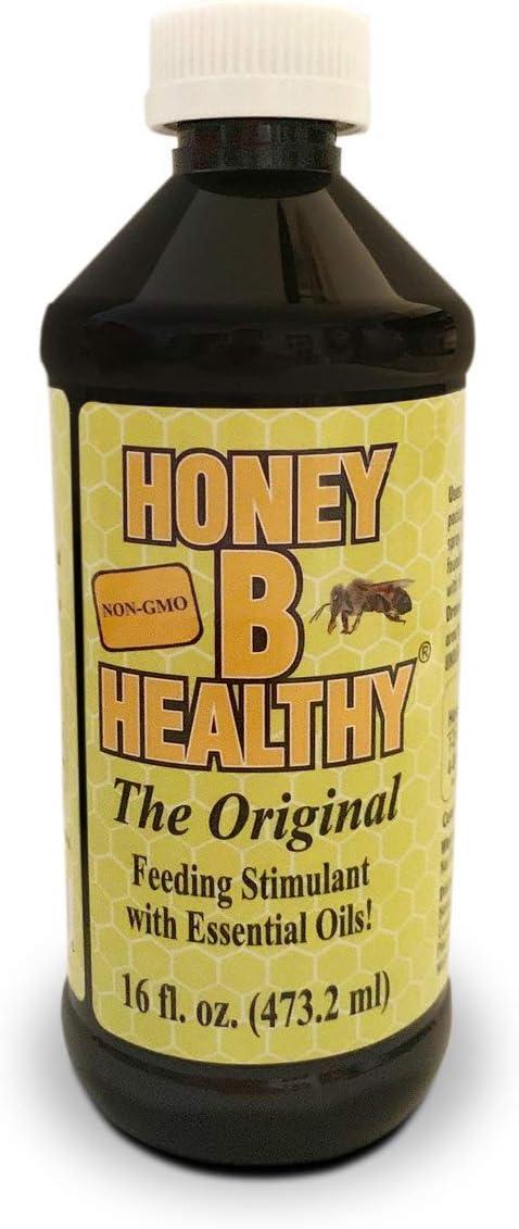 Honey B Healthy Original 16 oz. Bottle, Feeding Stimulant with Essential Oils