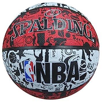 Spalding NBA Graffiti Outdoor 83-574Z Balón de Baloncesto, Unisex ...