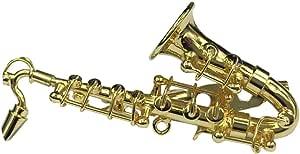 Miniblings Saxofon saxofon Broche saxofon Pin + Caja verg. saxofono