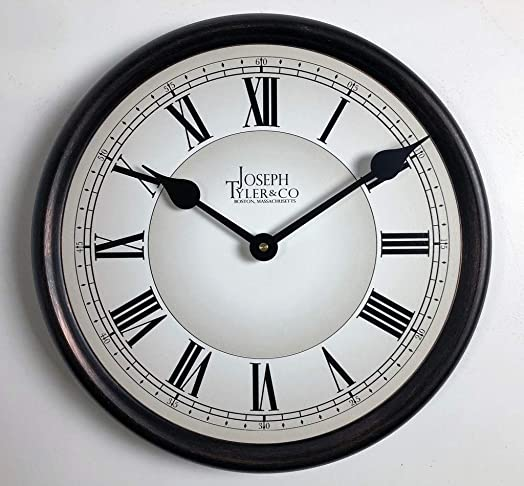Classic White Wall Clock, Available in 8 Sizes, Most Sizes Ship 2-3 Days,