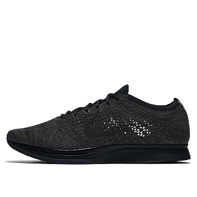 3bdd2094101e Amazon.com  Nike - Flyknit Racer - 526628009 - Color  Black - Size  9.0   Shoes