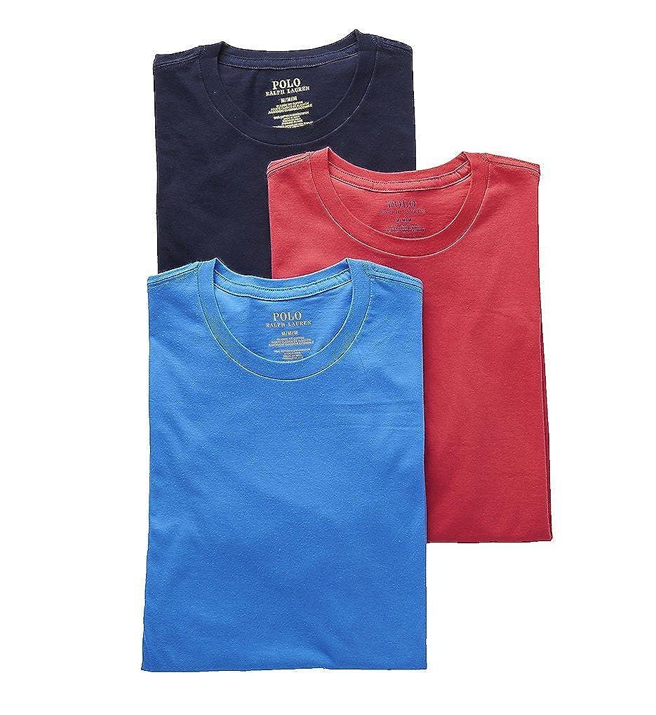 Polo Ralph Lauren Men's Classic Crew Neck Undershirts 3-Pack LCCN