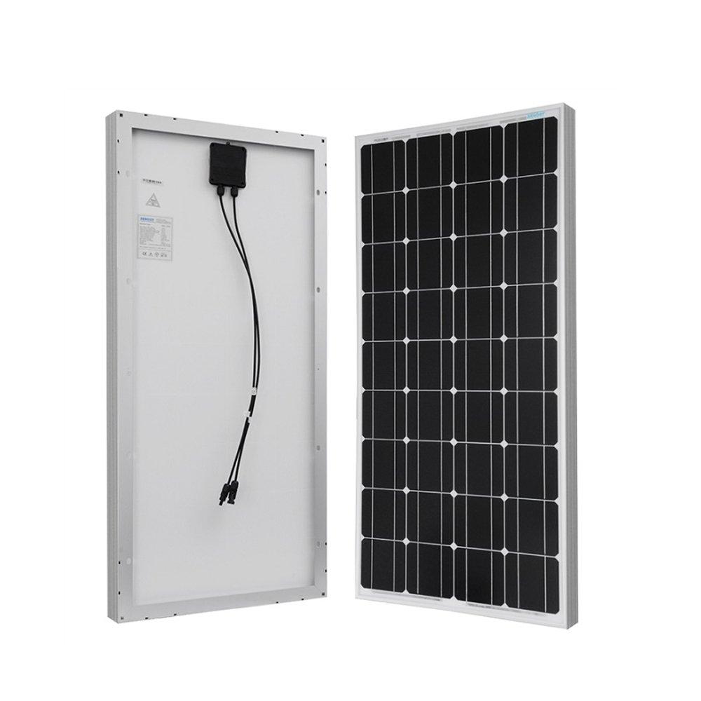 Renogy 100 Watts 12 Volts Monocrystalline Solar Starter Rover 45 Wiring Diagram Pdf Kit W 100w Panel 30a Pwm Negative Ground Charge Controller Mc4 Connectors