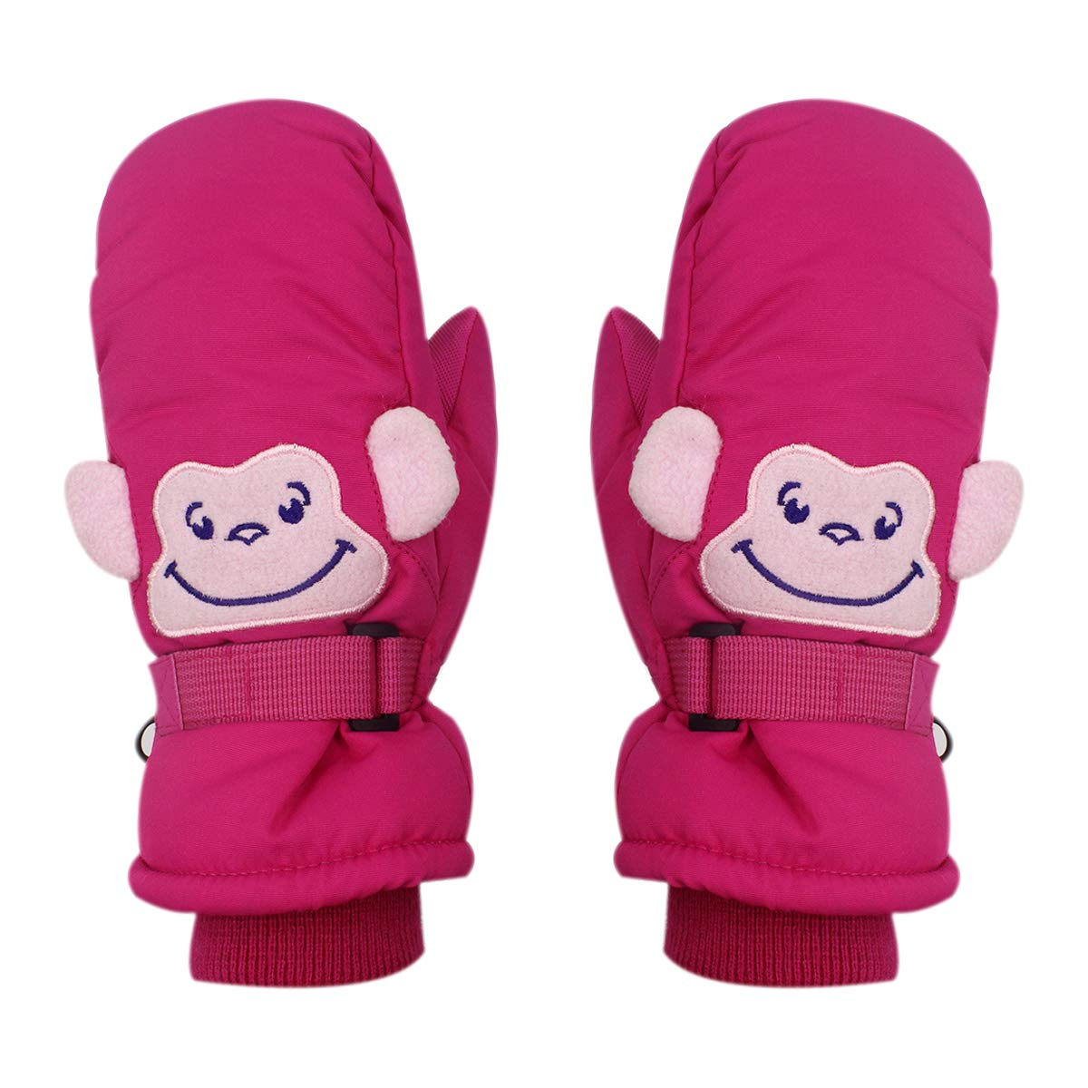 Kids Boys Girls Winter Warm Waterproof Thinsulate Ski Snow Mitten Gloves