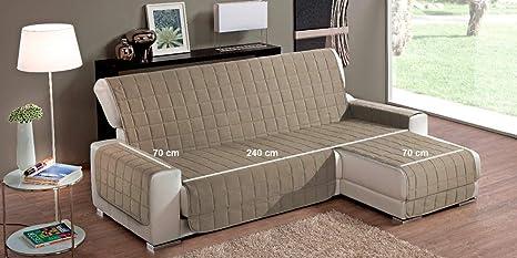 Simplicity Plus - Funda de sofá con chaise longue a derecha ...