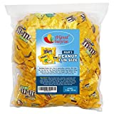 M&Ms Peanut Milk Chocolate Fun Size, 3 LB Bulk Candy