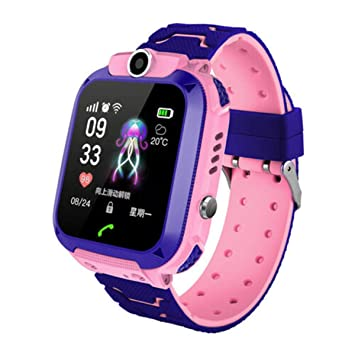 Topsale-ycld Kids Children Smart Watch Touch Screen Heart Rate ...