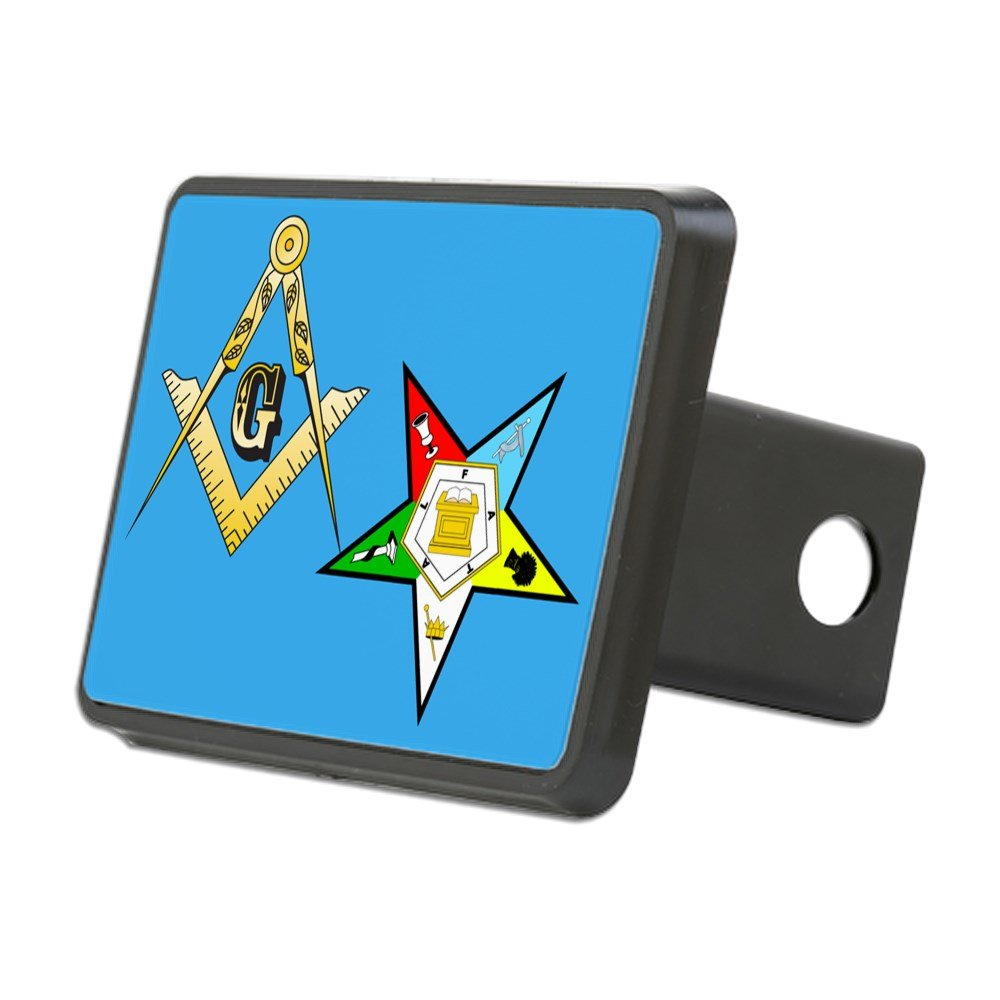 Trailer Hitch Cover CafePress Truck Receiver Hitch Plug Insert Masonic//Eastern Star Trailer Hitch Cover
