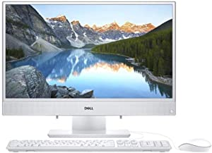 Dell Inspiron 24 FHD IPS Anti-Glare LED-Backlit Dispaly All-in-One Desktop, 7th Generation AMD A9-9425 Processor, 8GB DDR4 RAM, 256GB SSD, Wireless+Bluetooth, HDMI,Window 10 (256GB SSD)