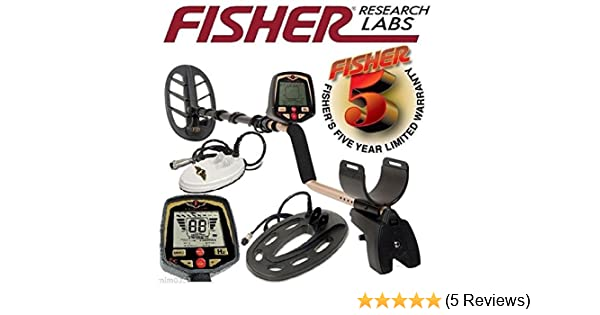 Amazon.com : Fisher F70 Multi-Purpose Metal Detector Combo 6.5 inch + 10 inch + 11 inch Search Coils + extra lower tube : Garden & Outdoor