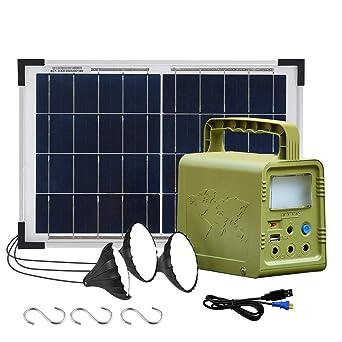 ECO-WORTHY 84 Wh Sistema de kit de iluminación de generador ...