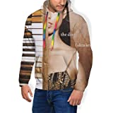 Paul McCartney Egypt Station Mans Long Sleeve Personality Jacket Hoodie Sweatshirt Plus Velvet Black
