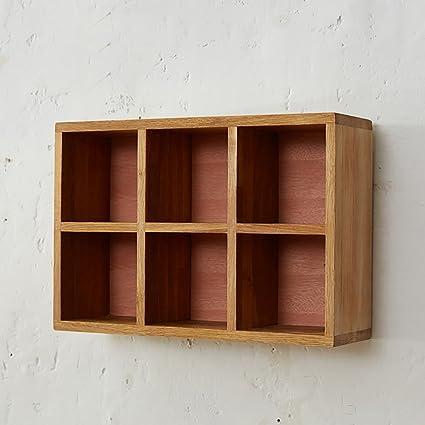 Amazon Com Bgcg European Retro Storage Closet Bedroom Wall Shelf