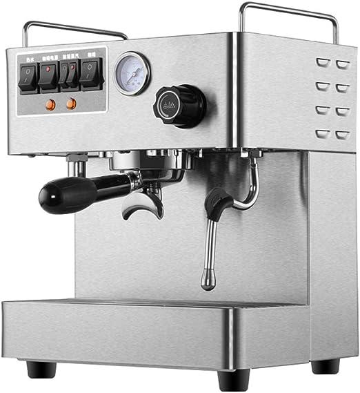 Máquina de café espresso semiautomática15 Bar Leche Burbuja Café ...