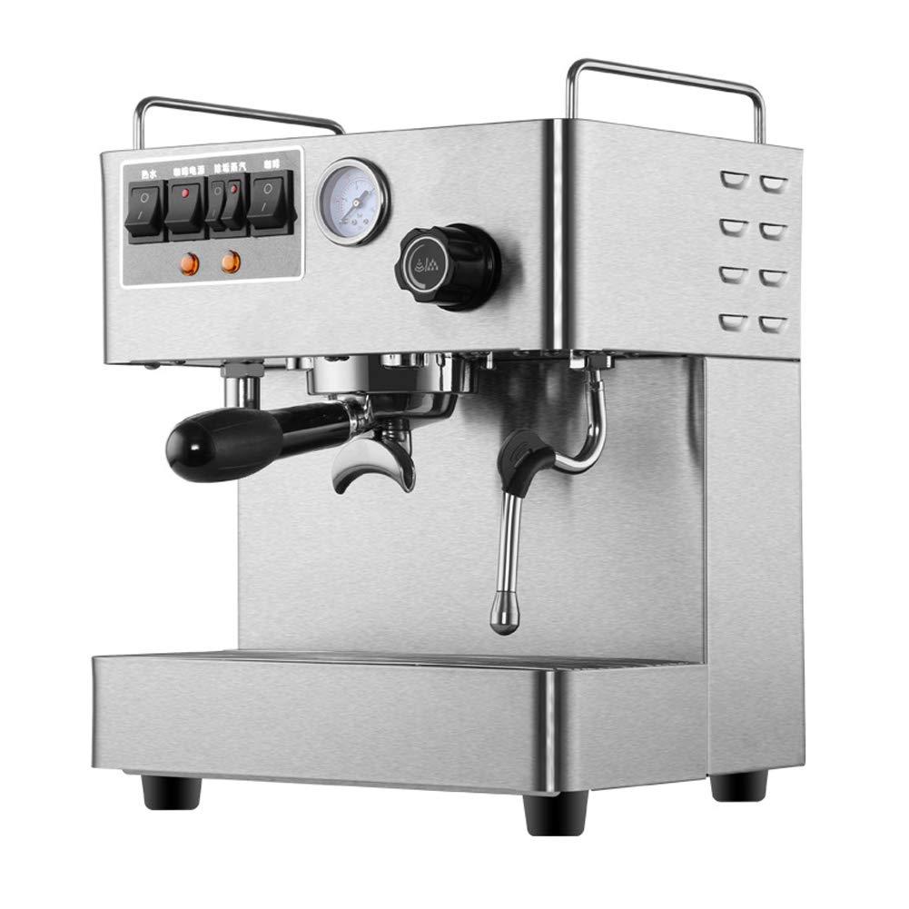 Máquina de café espresso semiautomática15 Bar Leche Burbuja Café exprés Cafetera Casa comercial, manual de instrucciones