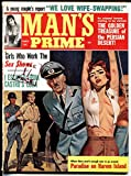 Man's Prime 3/1964-Sick Nazi torure/whipping cover-Cuba-WWII-more!