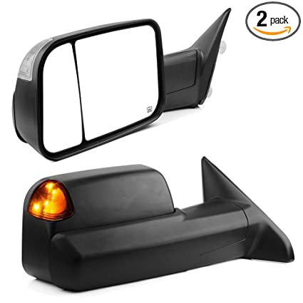 Amazon Com Yitamotor Towing Mirrors Compatible For Dodge Ram Tow
