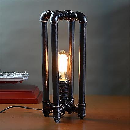 Atmko®Lámparas de escritorio Lámpara de escritorio retro Vintage ...