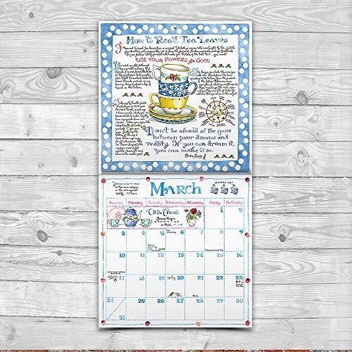 2019 susan branch heart of the home wall calendar