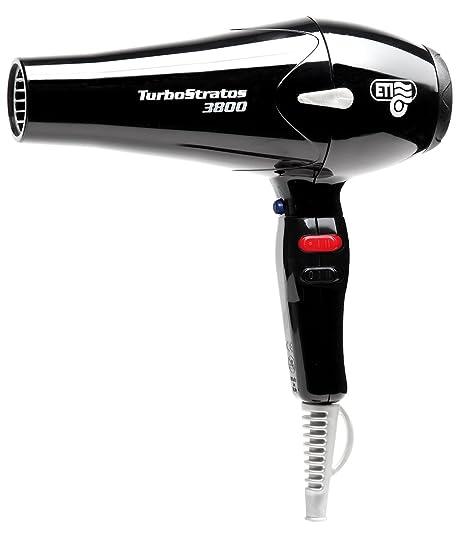 Comair Turbostratos 3800 - Secador de pelo (2400 W), color negro