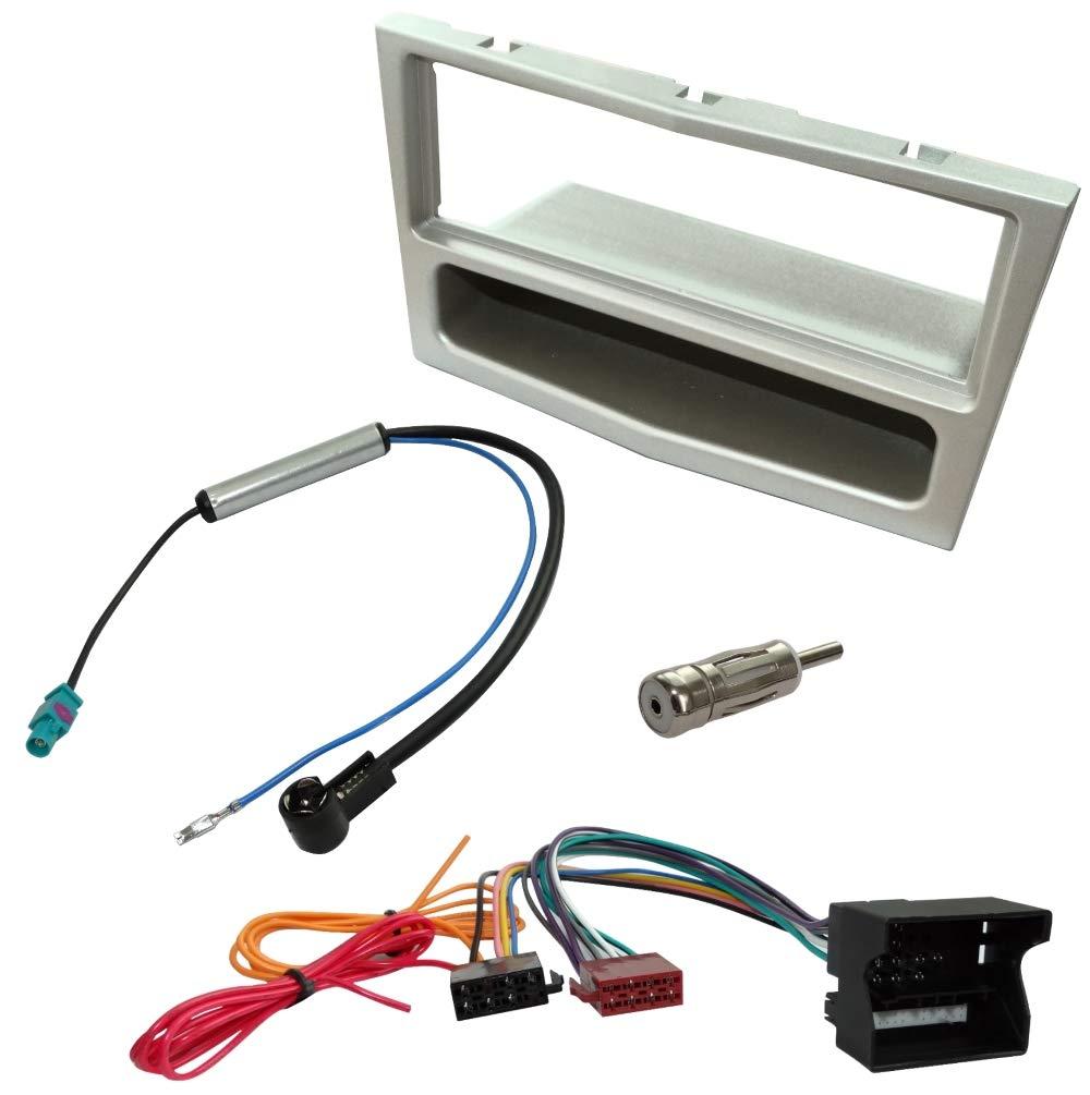AERZETIX Kit Marco de Radio 1/DIN Cable Haz para Radio c1440/C4639/C16462/C11158