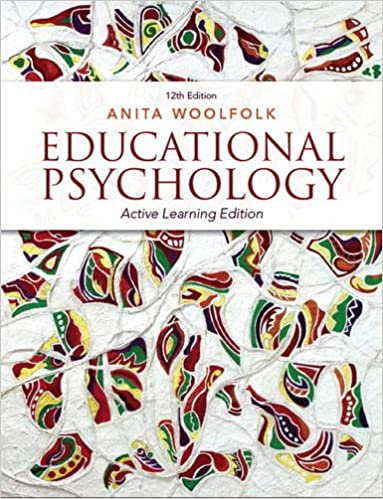 Educational psychology active learning edition 12th edition educational psychology active learning edition 12th edition 12th edition by anita woolfolk fandeluxe Choice Image