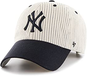 47 Brand Clean Up New York Yankees Pinstripe Home Run Two Tone Adjustable  Cap ·   3d622fb20958