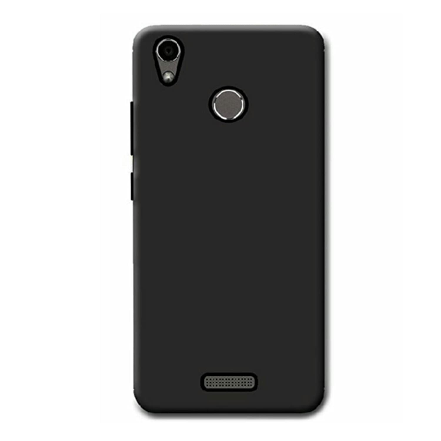 NIK TECH ONLINE Black Waterproof Soft Silicon Back Cover for Infocus Turbo 5