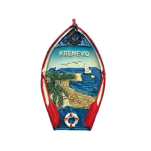 MUYU Magnet Adhesivo de Viaje para Nevera con Diseño de Búlgaro en ...