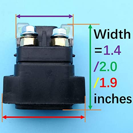 New Starter Relay For Yamaha VXR700F Rhino 700 UTV 2008 2009 2010 2011 2012 2013