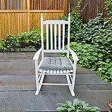 Yoglad Wooden Console Rocking Chair Rocking