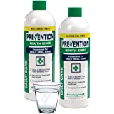 Prevention Daily Care Alcohol Free Mouth Wash Liquid – No Burn Alcohol Free Mouthwash Formula – Superior Quality – Non Alcoho