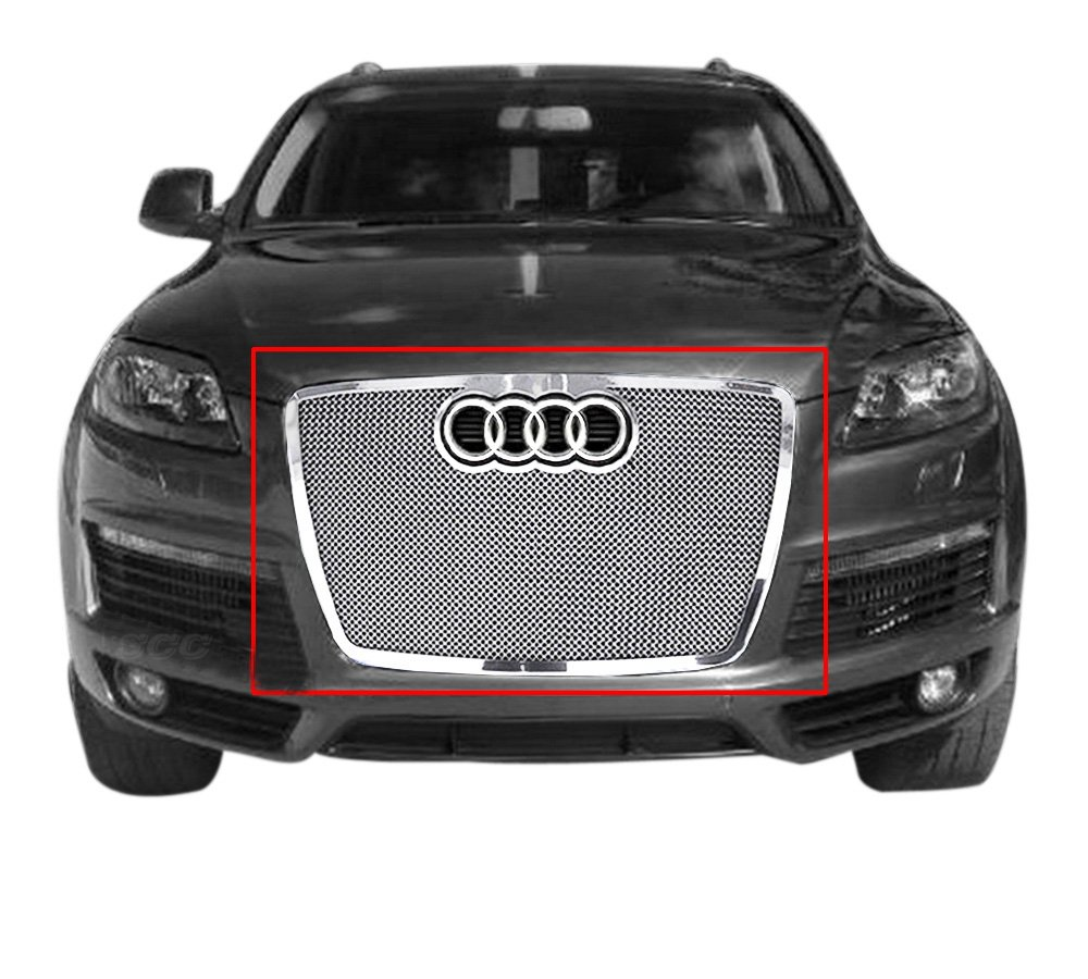 Stainless Steel 1.8mm Black Mesh Grille For 2007-2009 Audi Q7
