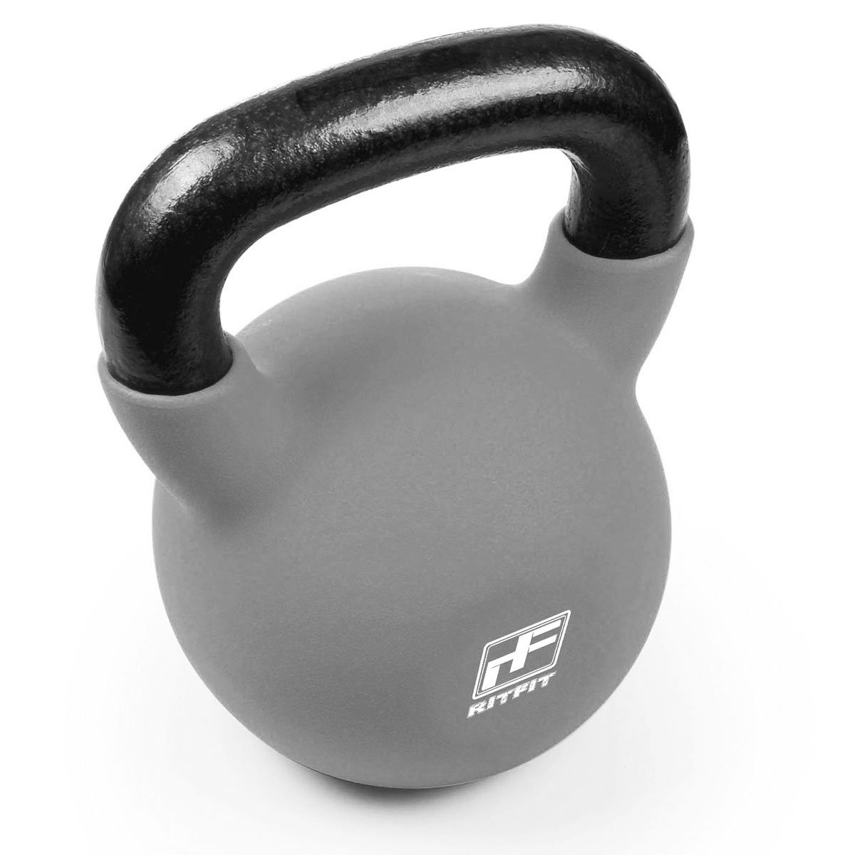 Weight Loss /& Strength Training RitFit Neoprene Coated Solid Cast Iron Kettlebell 5//10//15//20//25//30//35//40//45//50 LB Cross-Training Great for Full Body Workout