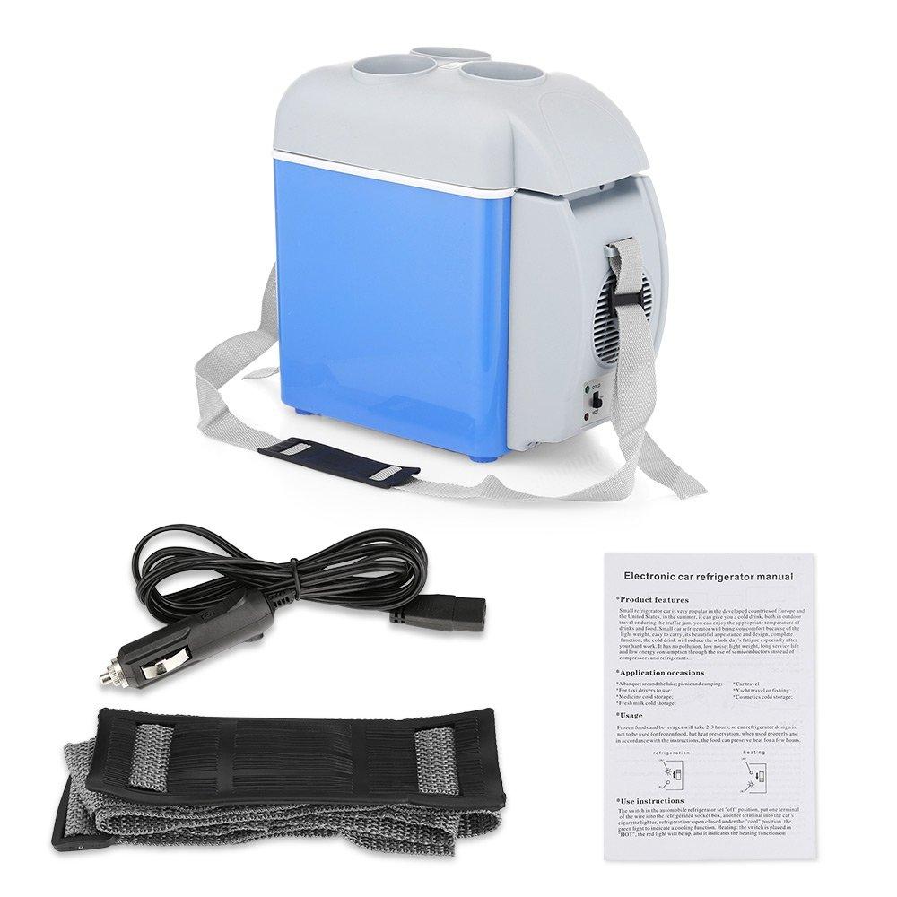 BISOZER Portable 7.5L Mini 12V Car Refrigerator Freezer Dual-Use Home Travel Vehicular Car Fridge Dual-Mode Temperature Control Dual-use by BISOZER (Image #4)